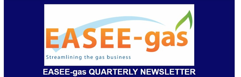 EASEE-gas Quarterly Newsletter - October 2018 edition
