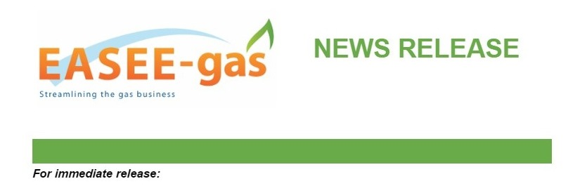 EASEE-gas Publishes Harmonised Gas Role Model Specification