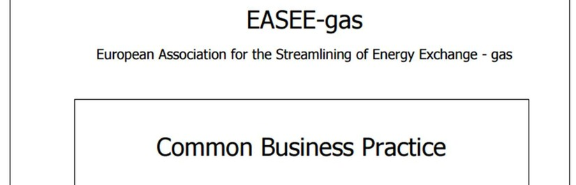 EASEE-gas approves new CBP on the harmonisation of the nomination and matching process for double-sided and single-sided nominations