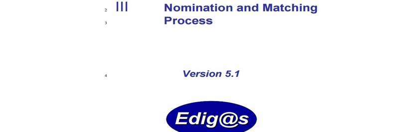 EASEE-gas publishes MIG on Nomination and Matching Process